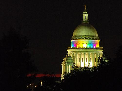 Providence, RI capitol Pride